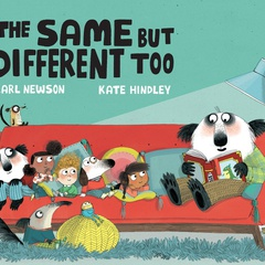 Virtual Story Time: The Same But Different Too