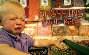 Warning - Therapy Required Post Retail Therapy... With Kids!