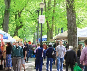 Shemanski Park Market