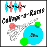 Cut It Out Collage-a-Rama Exhibition Opening Reception