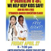 Stranger Danger Education Class for Parents and Kids