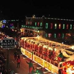 Parade of Lights Downtown Grapevine