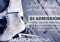 Ralston Arena Public Ice Skating