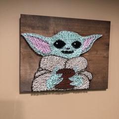 Star Wars string art evening