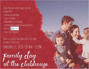 Family Day at the Clubhouse