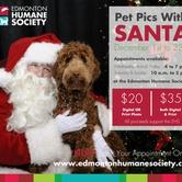 Pet Pics with Santa for Edmonton Humane Society