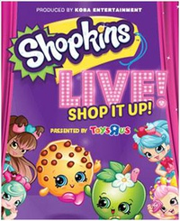 Shopkins Live! Shop It Up! at Sony Centre
