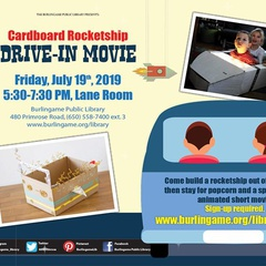 Cardboard Rocketship Drive-in Movie