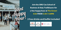SMU Cox School of Business Joint Happy Hour at the Grove