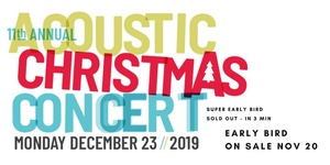 11th annual JR Digs Acoustic Christmas Concert