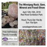 The 2018 Winnipeg Rock, Gem, Mineral & Fossil Show