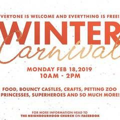 Free Community Winter Carnival - Family Day