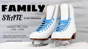 Family Skate at Angus Glen Community Centre
