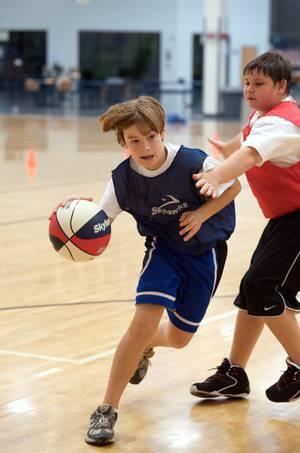 Skyhawks Basketball at Campbell Community Center!