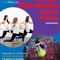 10 Year Anniversary Zumba Party