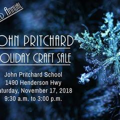 23rd Annual John Pritchard Holiday Craft Sale
