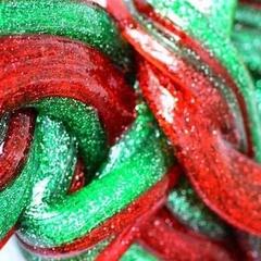 Christmas Slime Making for Kids