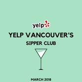 Community Event: Yelp Vancouver's Monthly Sipper Club