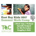 East Bay Kidz Summer Math Camp