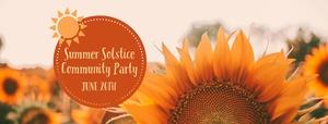 Summer Solstice Community Appreciation Party