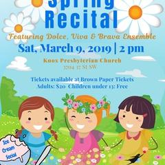 Calgary Girls Choir Spring Recital