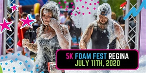 The 5K Foam Fest - Regina, SK 2020