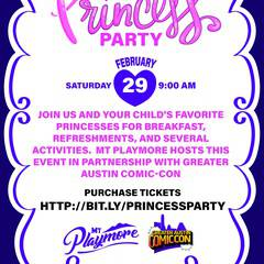 Princess Party at Mt Playmore