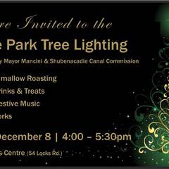 Shubie Park Tree Lighting