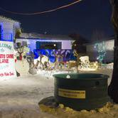 Candy Cane Lane - supporting Edmonton's Food Bank