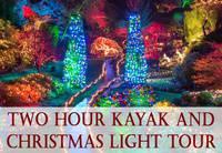 """Kayak Tour and """"Magic of Christmas"""" at Butchard Gardens"""