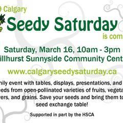 2019 Calgary Seedy Saturday