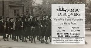 MMBC Discovers Virtual Program: World War II and Women on the Home Front