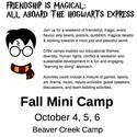 Weekend Camp October 4,5,6