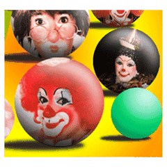 A Bubbly Bubblegum T Clown
