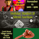 Holiday Market and Silent Auction
