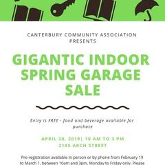 Gigantic Indoor Spring Garage Sale