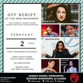 Off Script: Standup Comedy You Can Heckle