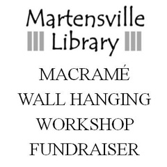 Macrame Wall Hanging Fundraiser