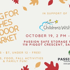 Falling for Wishes Outdoor Market in Support of Children's Wish