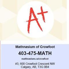 Mathnasium of Crowfoot