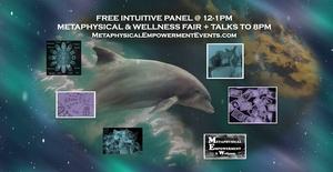 Metaphysical-Wellness Fair, 50+ Vendors, Free Talks & Intuitive Panel