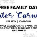 Free Family Day Winter Carnival