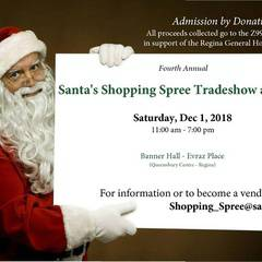 Santa's Shopping Spree Tradeshow and Sale