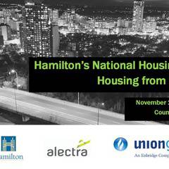 Hamilton's National Housing Day Event - Housing from the frontline