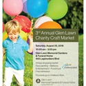 Glen Lawn Charity Craft Market in support of The Children's Wish Foundation