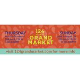 Sundays at the 124 Grand Market