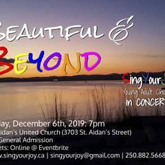 Beautiful & Beyond - SingYourJoy in Concert