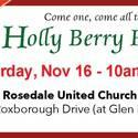 Holly Berry Fair -Rosedale 2019