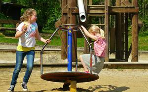 Combining Physics and Fun - Summer Time Learning at the Playground