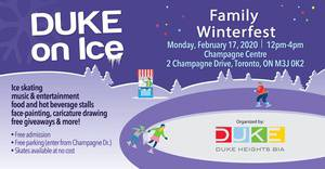 DUKE on Ice Family Winterfest
